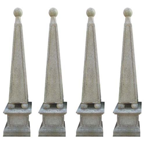 Cast Stone obelisks 4 SOLD