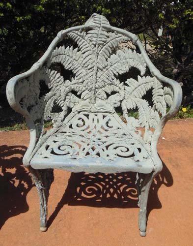 Garden Chairs, Fern Pattern SOLD