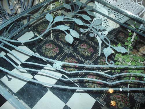 Dining Set Vintage Salterini  SOLD