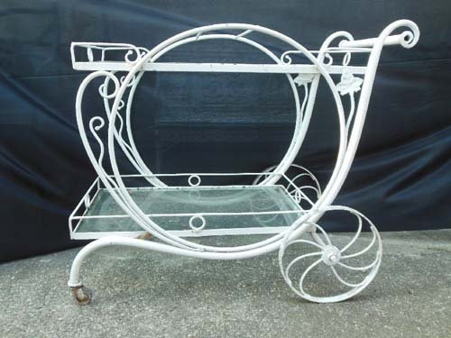 Tea Cart Vintage by Salterini SOLD others availabl