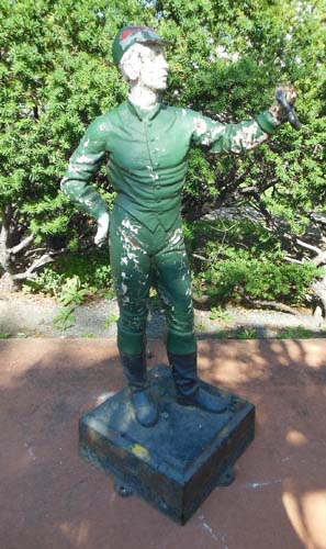 Jockey Cast Iron Lawn Jockey SOLD