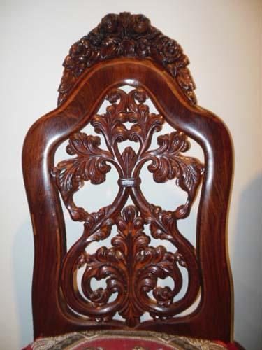 Chair, Belter Victorian Slipper Chair