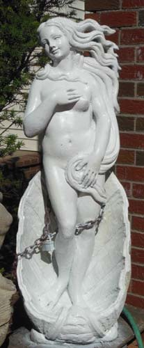 Garden Statue of Venus cast stone