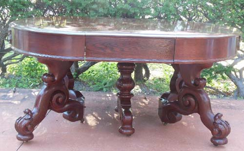 Belter Victorian Banquet/Dining Table
