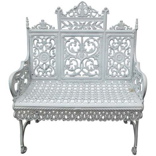 Garden Bench Timmes Cast Iron.     SOLD