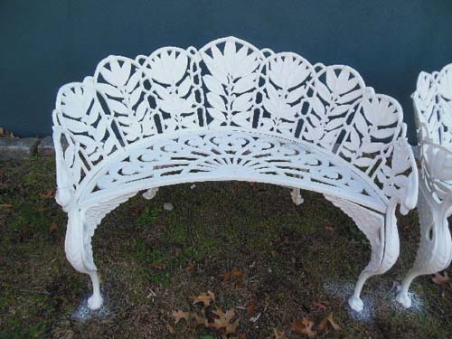 Benches Cast Iron. SOLD