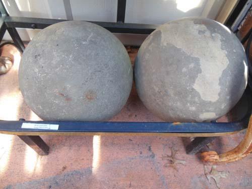 Stone balls   SOLD