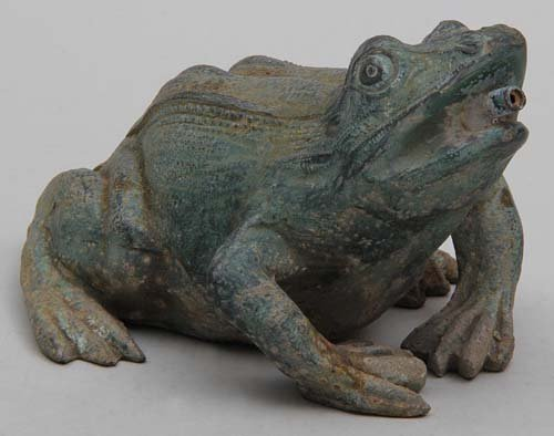Cast Iron Frog Fountain  SOLD