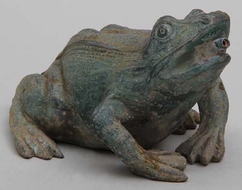 Fountain, zinc frog SOLD