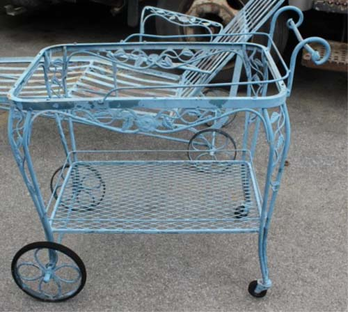 Tea cart vintage by woodard SOLD