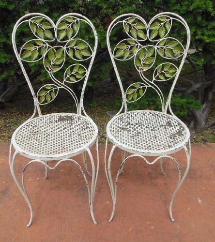 Italian Tole Bistro Set SOLD