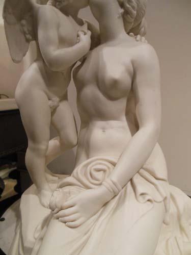 Parian Grp, Venus & Cupid