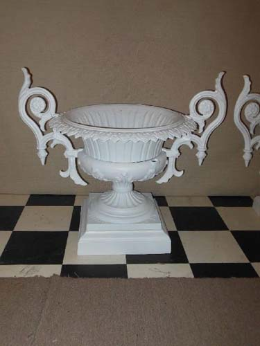 Urns, Cast Iron Urns by Wallbridge SOLD