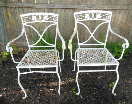 Salterini Chairs, Mt Vernon Pattern  Sold