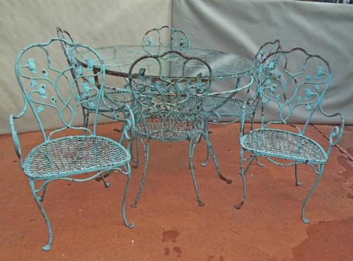 Salterini Dining Set 7 pc set SOLD