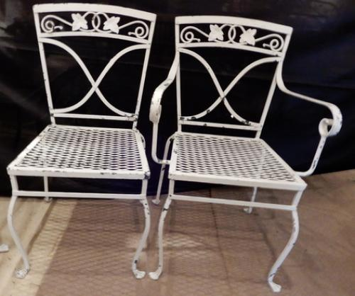 Salterini Patio Dining Set  Mt Vernon Pattern,SOLD