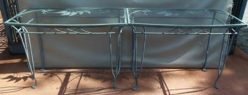 Salterini Pr Garden or Patio consoles SOLD