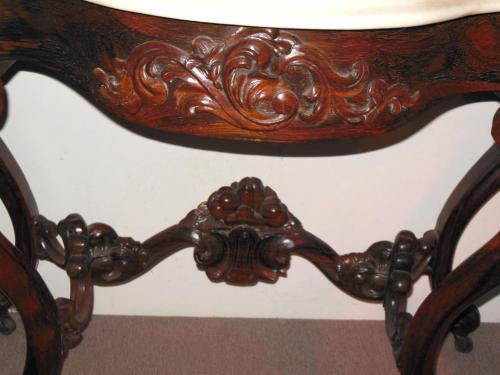 Belter Rosewood Console           SOLD