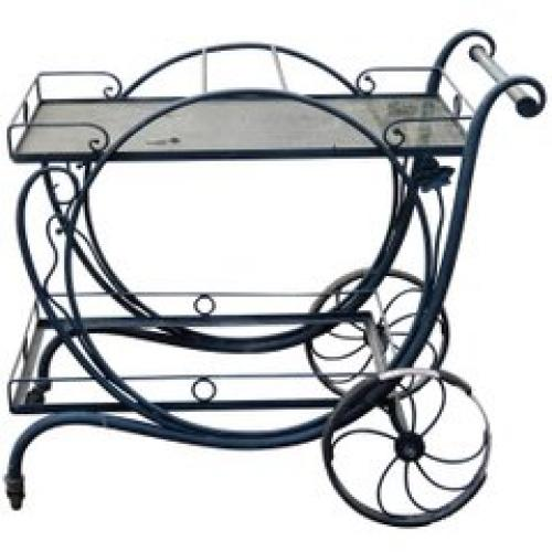 Salterini  Tea Cart Vintage Mt Vernon pattern