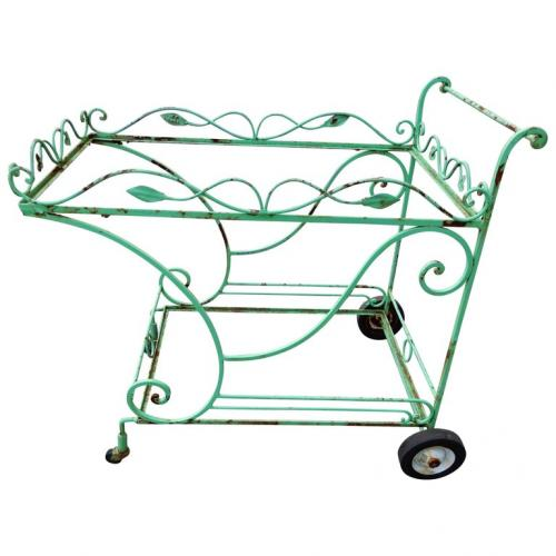 Vintage Salterini tea or bar cart