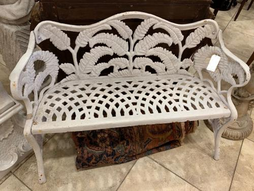 Benches Pr Cast Iron Fern Benches