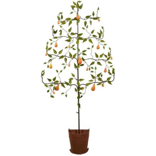 Italian Tole Tree with Pears  SOLD