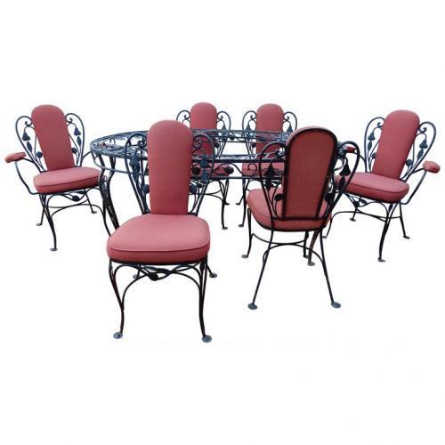Salterini Dining Set, Della Robbia pattern