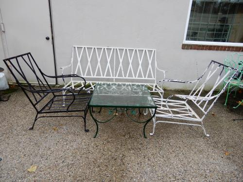 Salterini Patio set to be restored