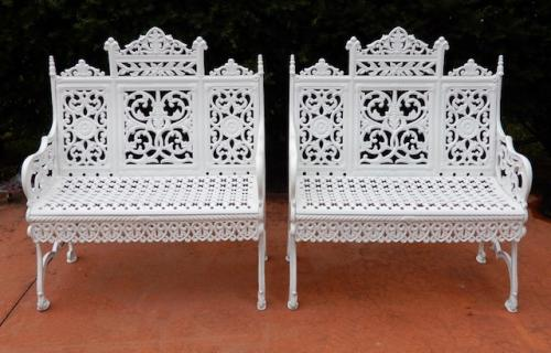 Garden Benches Cast Iron Pr by Timmes Brooklyn
