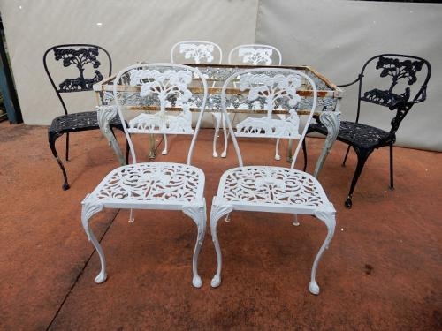 Molla set of 6 Figural chairs