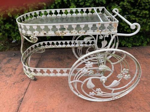 Salterini ornate tea cart
