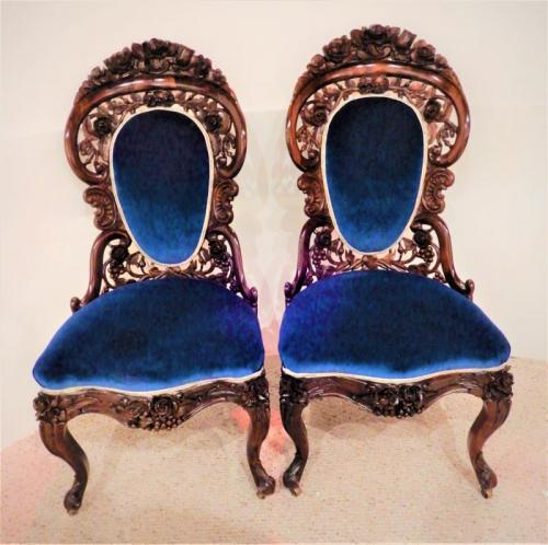 Belter Pair of Side chairs