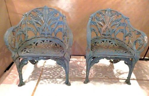 Lily of the Valley Pair of Chairs