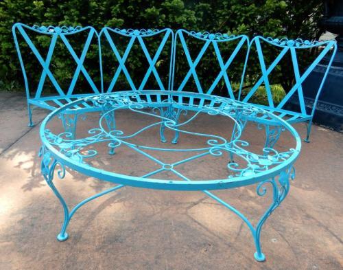 Woodard Chantilly Rose patio group