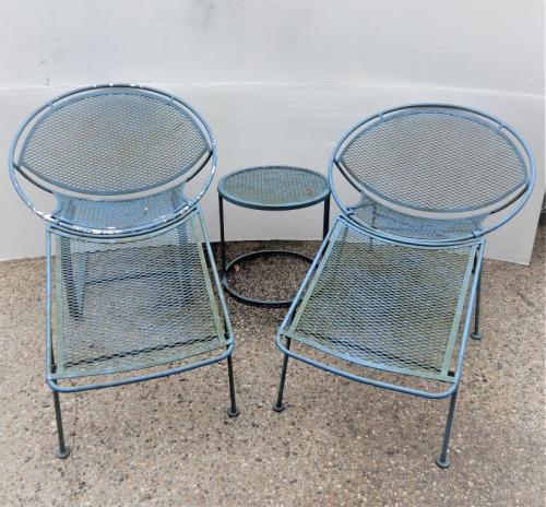 Salterini Radar chairs with table