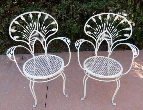 Salterini Pr Armchairs Riviera pattern