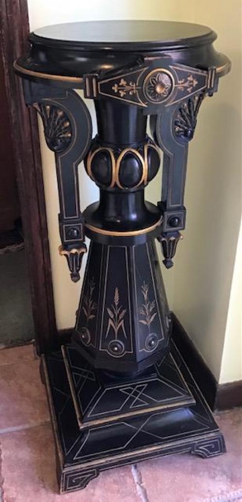 Victorian Neo Grec Pedestal