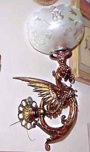Victorian Rococo Gas Chandelier by Cornelius & Co