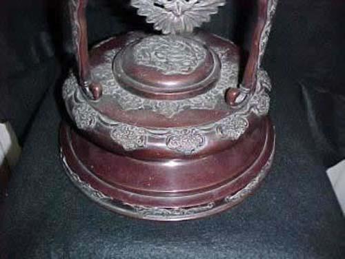 Victorian Cherub Banquet Lamp - 268