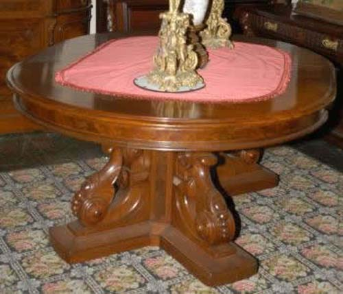 Victorian  Renaissance Dining Table