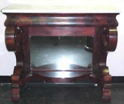 Am  Classical Pier Table Joan Bogart Antiques