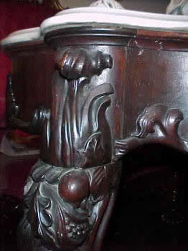 John Henry Belter Table.    SOLD