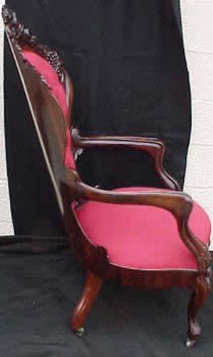 John Henry Belter Rosalie  Armchair