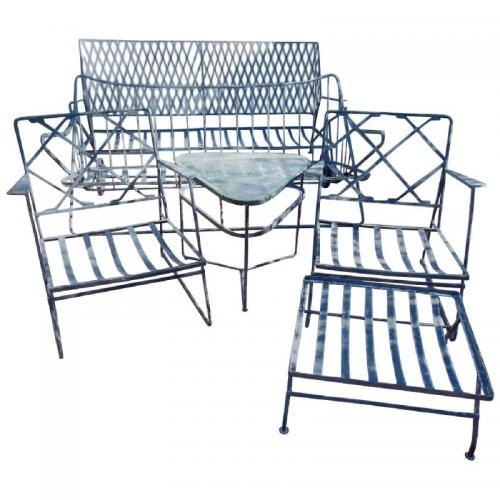 Salterini Vintage Patio Set by Mario Tempestini fo