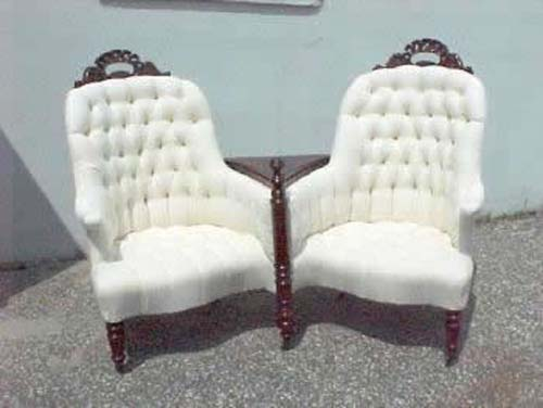 Belter Double Chair Loveseat, SOLD