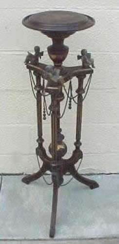 Victorian Kilian Bros. Cherub Pedestal-Bogart