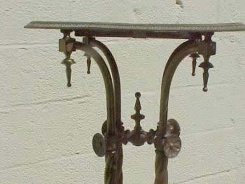 Victorian Brass & Longwy Stand SOLD