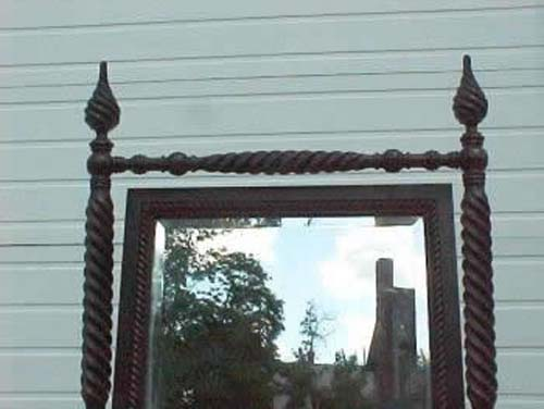 Victorian Hunzinger Style7' T  Cheval Mirror SOLD