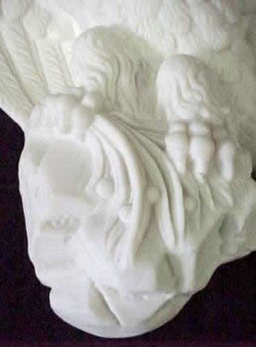 Parian Eagle Bracket  SOLD