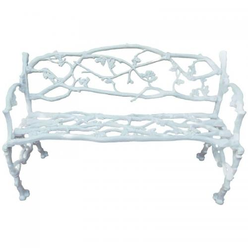 Bench: Cast Iron Rustic or Twig Bench SOLD